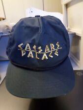 Caesars Palace Casino Las Vegas NV Navy and Gold Baseball Trucker Cap Snapback