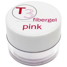 SNB Professional T3 UV Gel Fibergel Pink 20g /0.70oz
