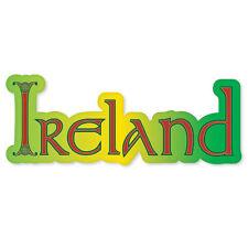 "IRELAND Love Ireland car bumper sticker 6"" x 2"""
