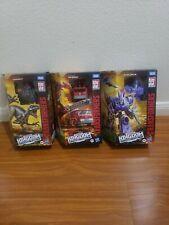 Transformers Kingdom Dinobot, Inferno, Cyclonus 3lot!!!