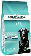Arden Grange Adult Light Dry Dog Food 12kg