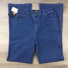 Staggers Mandy Indigo High Waist Boot Cut Stetch Women's Jeans Size 16 (NN15)