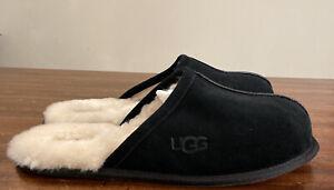 UGG SCUFF 1101111 BLACK SIZE 10, MEN'S SCUFF/ SLIPPERS, AUTHENTIC BRAND NEW.