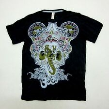 GANESH T SHIRT LORD M SLEEVE US CLOTHING NEW GOD MEN GANESHA BODY YOUNG WEAR OHM