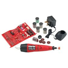 Clarke CCRT266 Cordless Rotary Tool With 262pc Accessory Kit 6461901  %