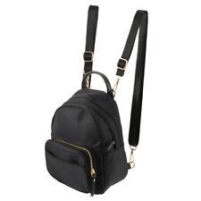 Women Mini Backpack Nylon Shoulder School Travel Bag Small Casual Rucksack Tote