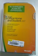 Microsoft Office 2007 Home and Student 2007, Word, Excel, Power Point, One Note