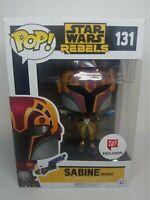 Funko Pop Star Wars Rebels Sabine Masked Walgreens Exclusive 131