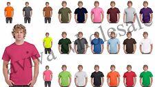 Wholesale Plain T-Shirts Gildan 20+ Color Options Solid Short Sleeve Blank Tees