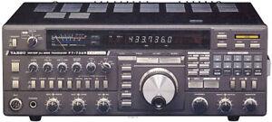YAESU FT-736R FT736R VHF UHF TRANSCEIVER RADIO TECHNICAL SERVICE REPAIR MANUAL