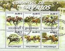 Timbres Chevaux Mozambique 4404/9 o année 2011 lot 13468 - cote : 35,60 €