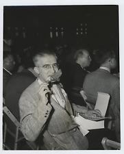 USA, Wallstreet, shareholders meeting Vintage silver print Tirage argentique