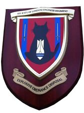 101 EOD Regiment Royal Engineers Military Wall Plaque