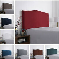 Velvet Thicken Elastic Bed Head Cover Headboard Back Protection Dust Cover