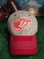 Detroit Red Wings redwings Reebok winter classic hat cap h45