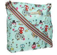 New Owl Bikes Womens School Satchel Bag Messenger Ladies Shoulder Bag Crossbody