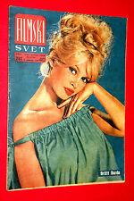 BRIGITTE BARDOT 1959 UNIQUE EXYU MOVIE MAGAZINE