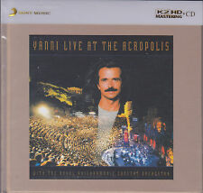 """Yanni Live At The Acropolis"" Sony Japan K2HD 24bit Mastering Audiophile CD New"