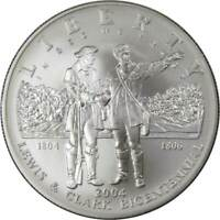 2004 P $1 Lewis and Clark Commemorative Silver Dollar Coin Choice Uncirculated