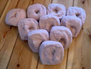 500g Baby Alpaka Wolle, super zart und weich, Farbe: rosa