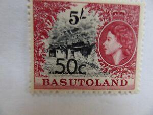 Basutoland 1961 5 shillings m/mint