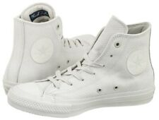 Converse All Star Chuck Taylor 2 Mens White Leather Hi Top UK 11 - EU 45 - US 11