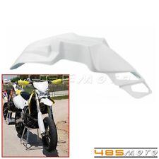 Supermoto Dirt Bike White Front Fender Mudguards For Honda CRF250X CRF250R KTM