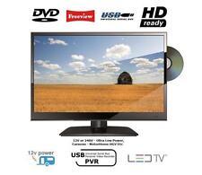 "15"" Low Power HD LED TV FREEVIEW DVD 12V 12 Volt Car CARAVAN HGV BOAT Motorhome"