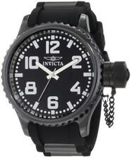 Invicta 1936 Quinotaur Russian Diver Quartz Ceramic Poly Strap Mens Watch