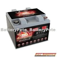 Full Throttle FT410 AGM Powersport Battery Replaces Odyssey Batteries PC925