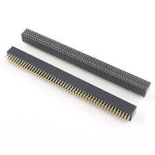 2pcs 127mm X 254mm Pitch Double Row 2x50 Pin 100 Pin Female Header Strip