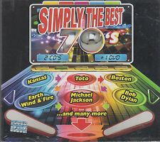 CD/ DVD - Simply The Best 70's NEW Kansas Toto Boston Bob Dylan FAST SHIPPING !