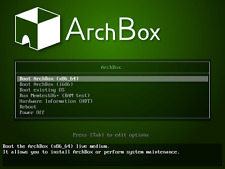 ArchBox OS Linux Live USB Arch based OpenBox out of box Chromium LibreOffice