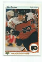 "RICK TOCCHET (Philadelphia) 1990-91 UPPER DECK ""BASEBALL HOLO"" ERROR CARD #263"