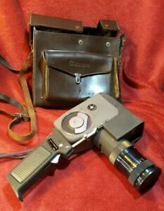 Canon  Reflex Zoom 8  Cine Camera with Leather Case and Trigger Grip Not Tested