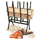 Holzsägebock Sägebock 400kg Holzbock Sägehilfe Brennholz Holzspalter Kettensäge