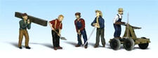 Woodland Scenics A2177 N Rail Workers Figures Men People Train Scenery I