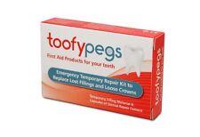 Toofy Clavijas de primeros auxilios para los dientes *