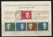 GERMANY SGMS1233A 1959 BEETHOVEN FINE USED