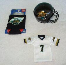 2005 Upper Deck Mini Jersey Byron Leftwich, Jacksonville Jaguars, Holder, Helmet