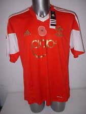 Southampton amapola Adidas Adulto XL Camiseta Jersey Fútbol Fútbol BNWT Nuevo Santos