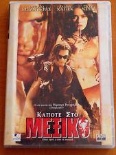 ONCE UPON A TIME IN MEXICO DVD PAL FORMAT REGION 2 Antonio Banderas,Johnny Depp