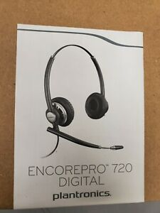 Plantronics EncorePro HW720D Binaural wired Headset Brand New