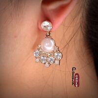 Destocking Rings` Ears Nails Art Deco Drop Chandelier Pearl Cc 2