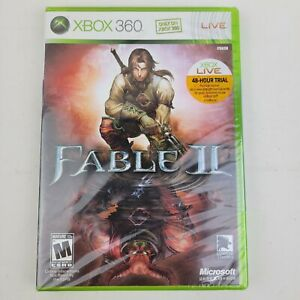 Fable II 2 Xbox 360 New and Sealed