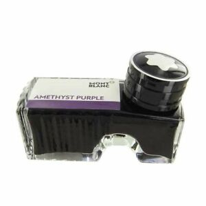 Montblanc Fountain Pen Ink Amethyst Purple In Inkwell New In Box 60ml 124488
