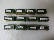 Qty Lot (117) 512MB PC2700 DDR Laptop Memory / RAM -Micron Infinenon Samsung etc
