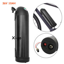 X-go 36V 10Ah Bottle Lithium Battery Aviation for Electric Bicycles E-Bike 350w