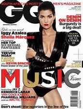 GQ SOUTH AFRICA,Sheila Marquez,Arctic Monkeys,Kevin Spacey,Jay-Z,Iggy Azalea NEW