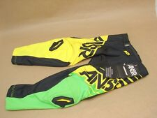 NWT Answer ANSR A14 Youth 20 Syncron Motocross MX Motorcycle Pants Green Yellow